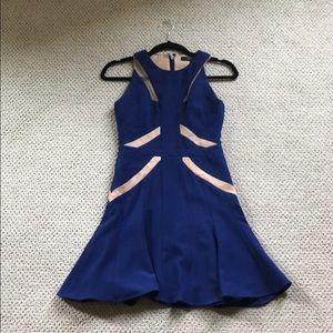 BCBG illusion cut our dress, 0